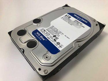 動画編集用PCにもお勧め!Western Digital HDD 6TB WD60EZAZ【レビュー】